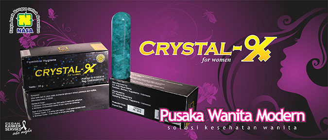 Crystal x - Distributor Nasa Makassar
